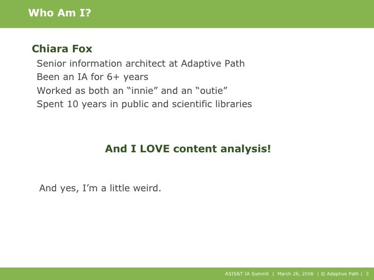 Content Analysis: Methods and Mentoring Slide 3