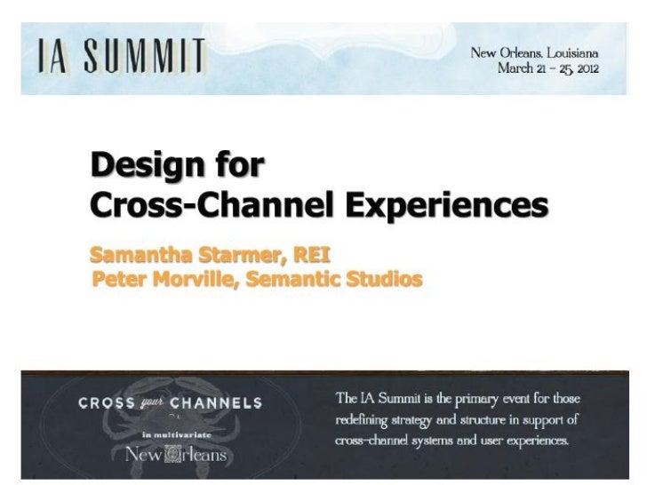 what is      cross   channelexperience?