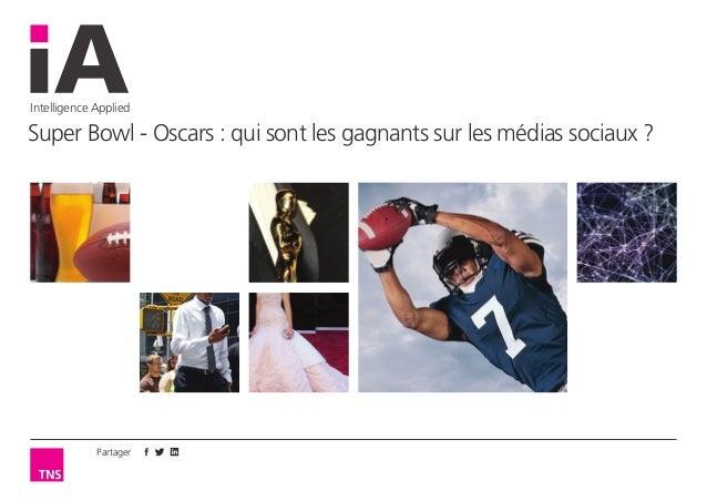Partager Intelligence Applied Super Bowl - Oscars: qui sont les gagnants sur les médias sociaux ?