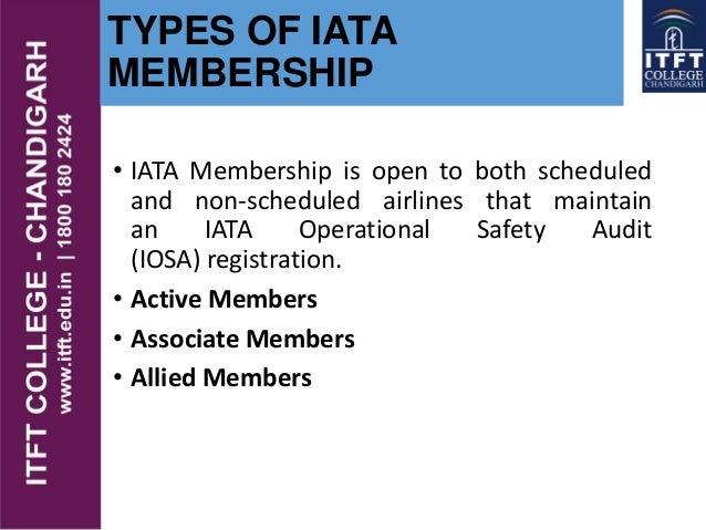 ITFT - IATA- International Air Transport Association