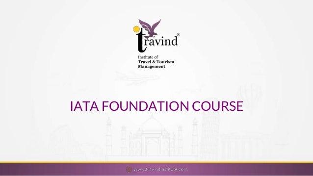 IATA foundation course