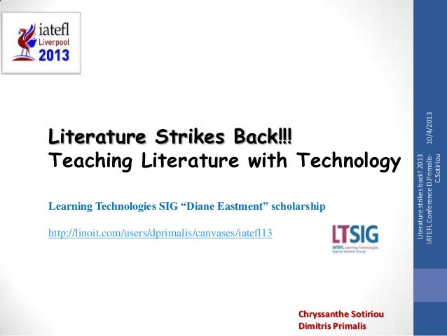 "Learning Technologies SIG ""Diane Eastment"" scholarship http://linoit.com/users/dprimalis/canvases/iatefl13  Chryssanthe So..."