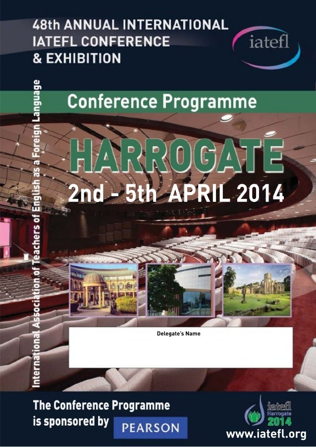 Join our authors  at IATEFL 2014!  Wednesday  2  APRIL  Post-IELTS writing:  helping students to understand  and meet acad...