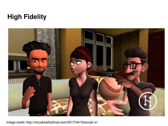 High Fidelity Image credit: http://virtualrealitytimes.com/2017/04/16/social-vr/