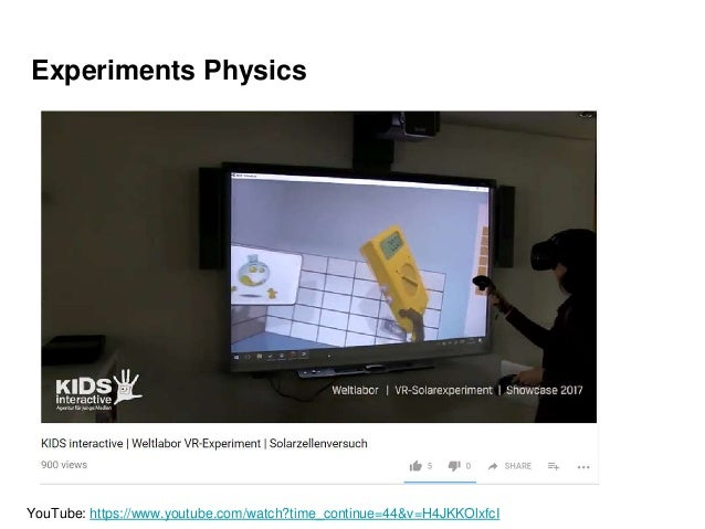 Experiments Physics YouTube: https://www.youtube.com/watch?time_continue=44&v=H4JKKOlxfcI