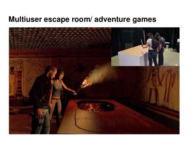 Multiuser escape room/ adventure games