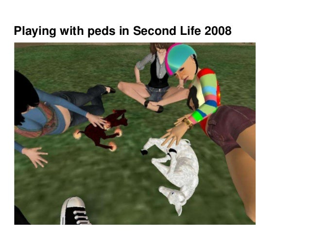 Playing with peds in Second Life 2008