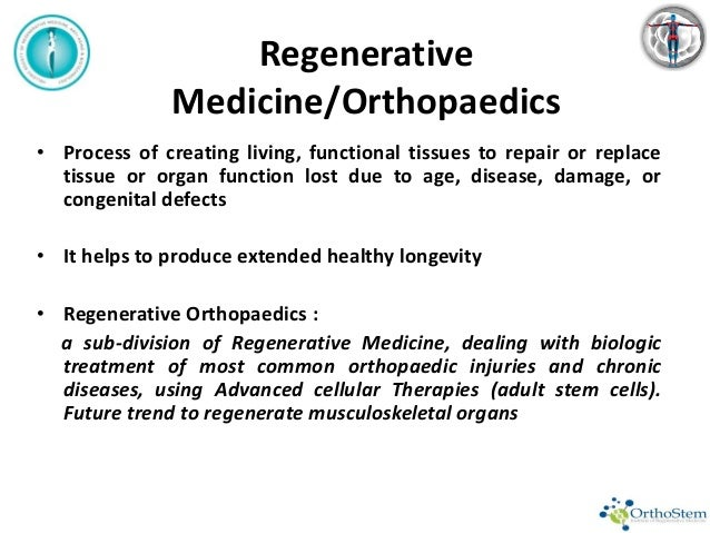 Adult Stem cells in Orthopaedics