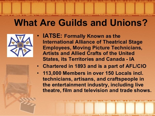 Artists And Allied Crafts Of The United States Iatse