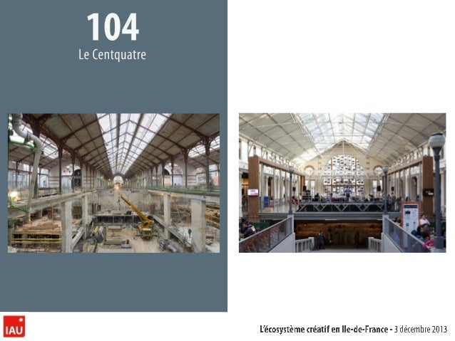 IAUF L'écosystème créatif en Ile de France, 2013