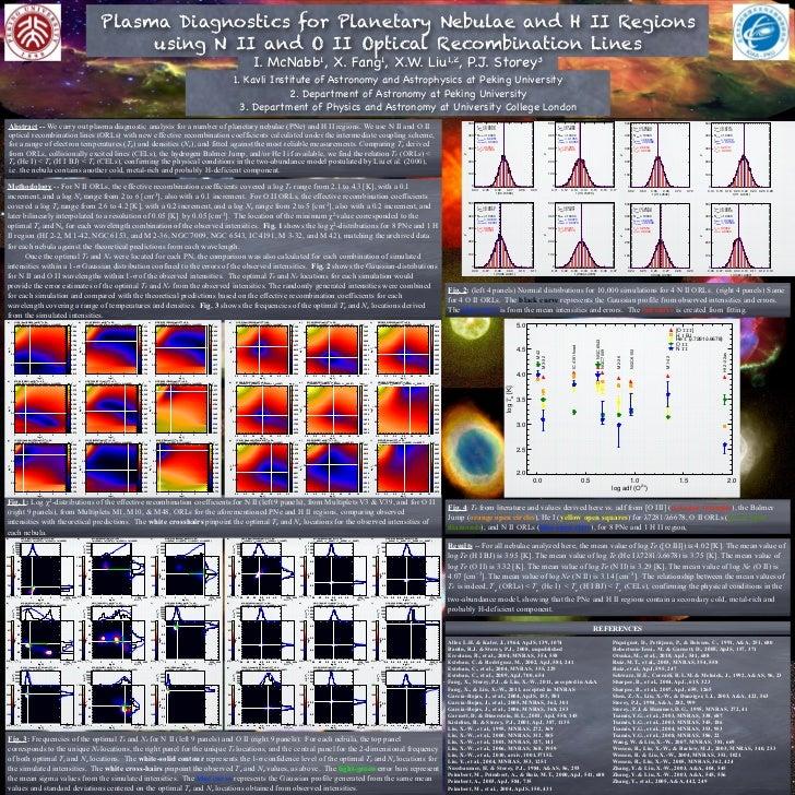 Plasma Diagnostics for Planetary Nebulae and H II Regions                                                                 ...