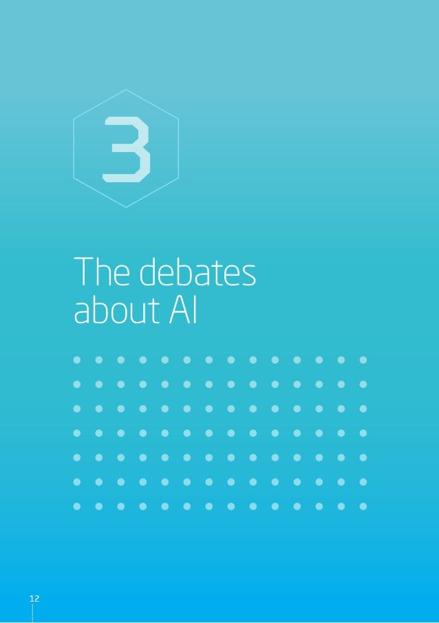 The debates about AI 3 1212