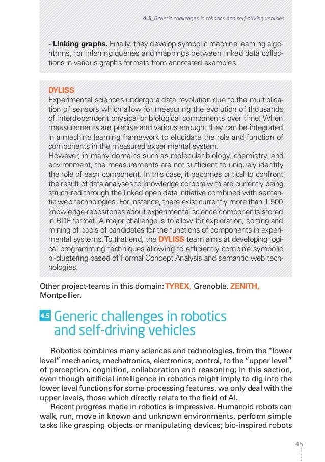 Inria - White Paper - Artificial intelligence, current challenges and…