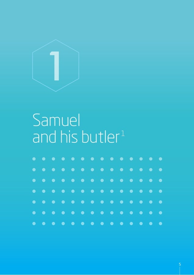 Samuel and his butler1 1 5