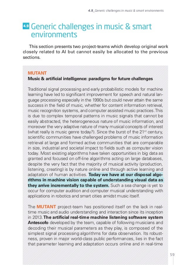 Inria - White Paper - Artificial intelligence, current challenges and Inria's engagement