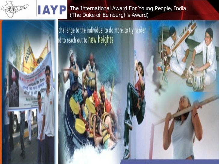 The International Award For Young People, India  (The Duke of Edinburgh's Award)