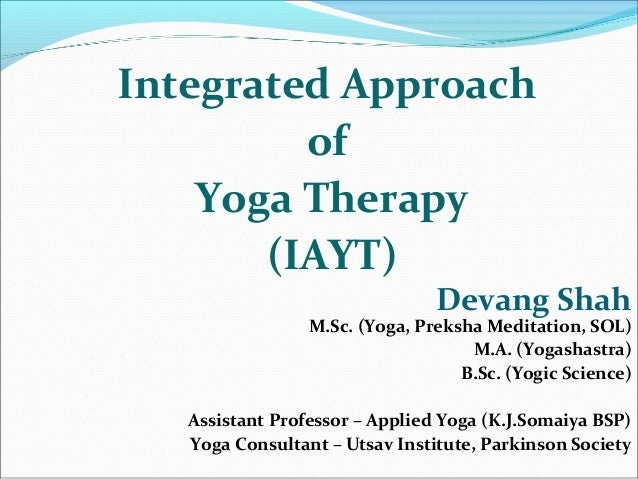 Devang Shah M.Sc. (Yoga, Preksha Meditation, SOL) M.A. (Yogashastra) B.Sc. (Yogic Science) Assistant Professor – Applied Y...