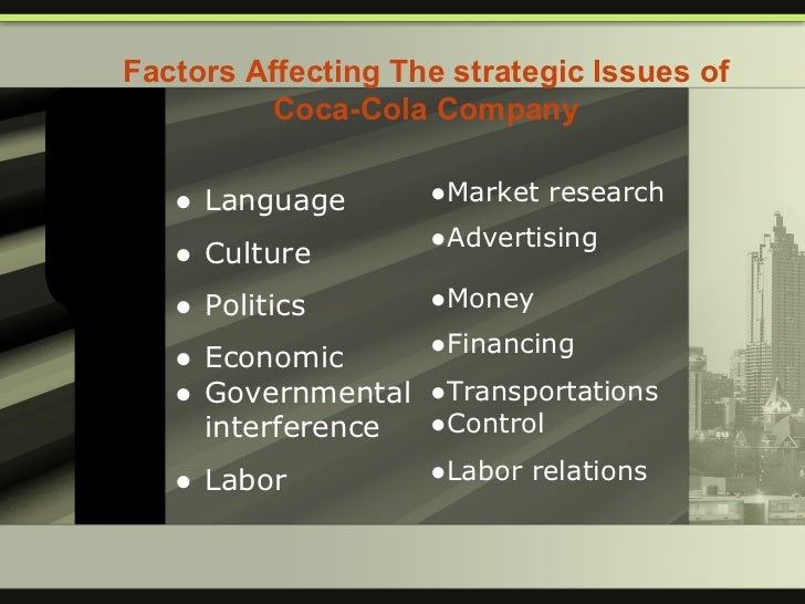 an analysis of the implementation of a new communication system in the coca cola company As a company, coca-cola constantly changes, rebrands,  coca-cola harnesses the power of social networking to spread the word concerning new products, .
