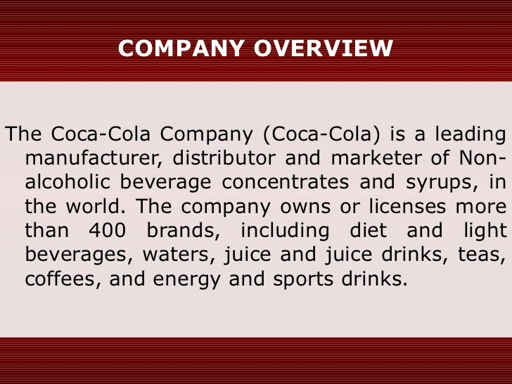 The Coca-cola company in China: international business plan & entry strategy Essay