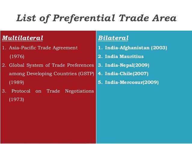 International Trade Agreement