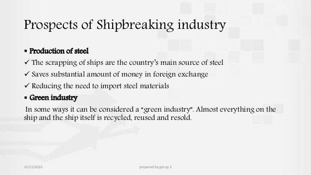 shipbreaking business plan