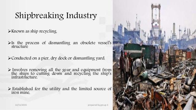 ship breaking industry in bangladesh pdf
