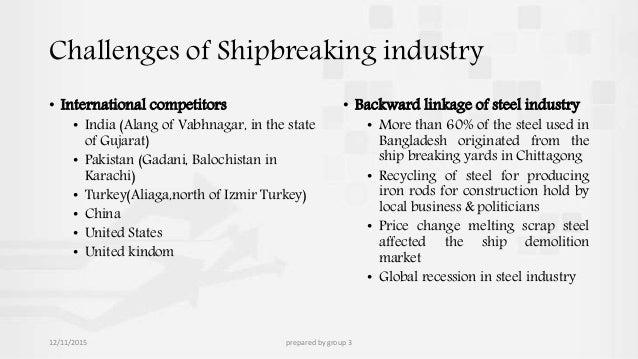 ship recycling plan