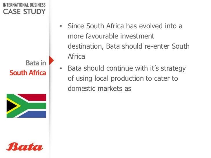 The case analysis: Bata Shoe Essay