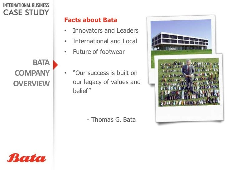 case on bata Welcome to the world of case studies that can bring you high grades here, at acasestudycom, we deliver professionally written papers, and the best grades for you from your professors are guaranteed.