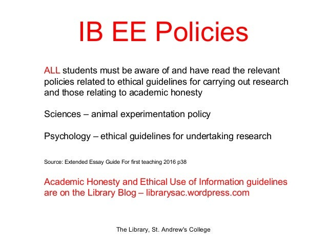how to write an abstract for extended essay ib