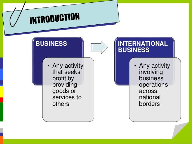 Sample on Business Environment