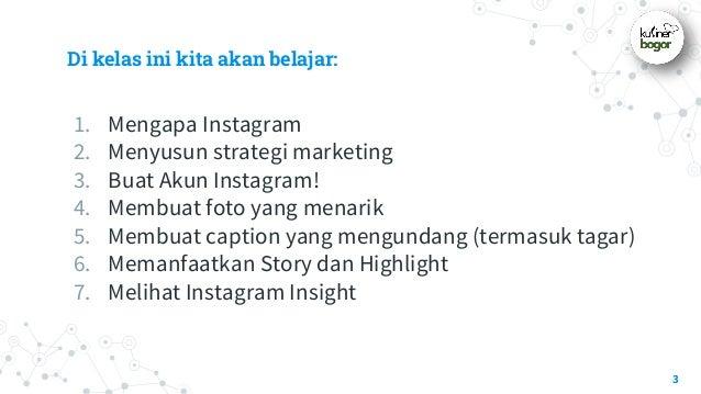 Step-by-Step Instagram untuk UMKM Slide 3