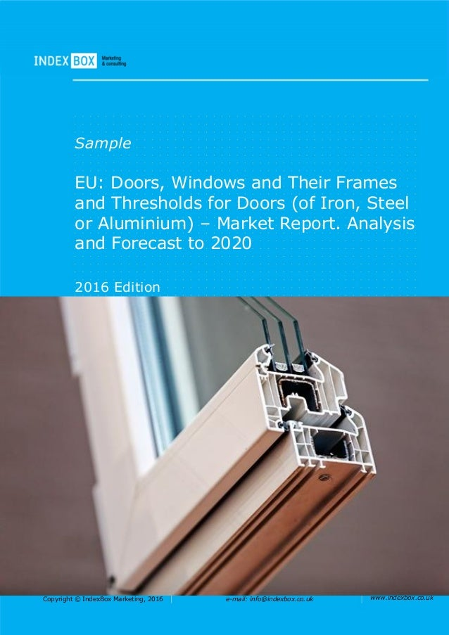 EU: Doors, Windows and Their Frames and Thresholds for Doors (of Iron…