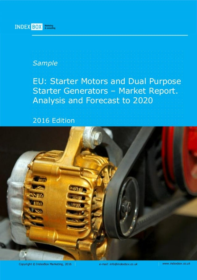 eu starter motors and dual purpose starter generators