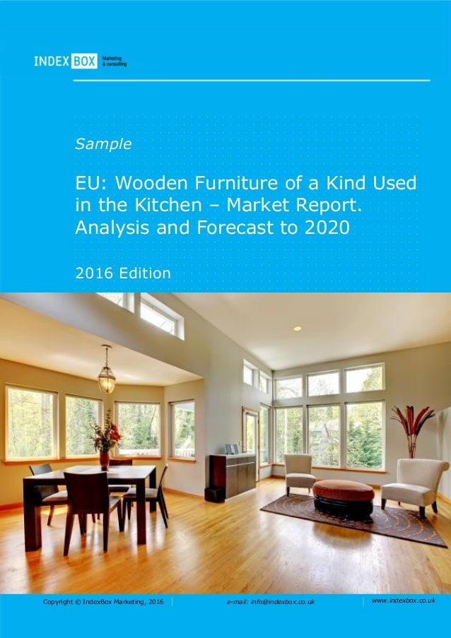 EU: Wooden Furniture Of A Kind Used In The Kitchen