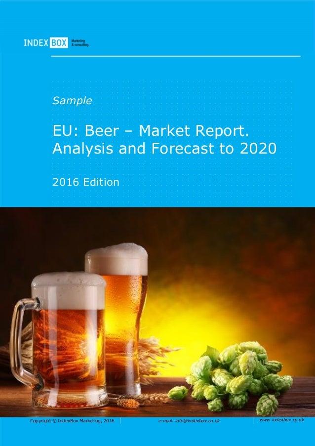Industry Analysis of Craft Breweries