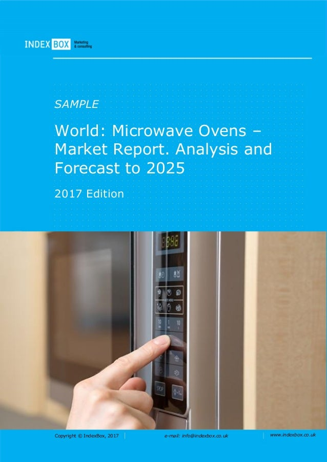 World: Microwave Ovens - Market Report. Analysis And Forecast To 2025
