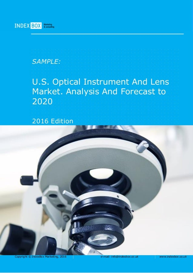 U.S. Optical Instrument And Lens Market. Analysis And ...