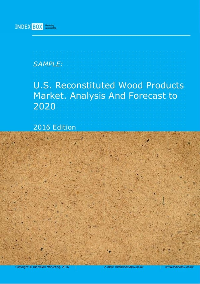 U S Reconstituted Wood Products Market Analysis And
