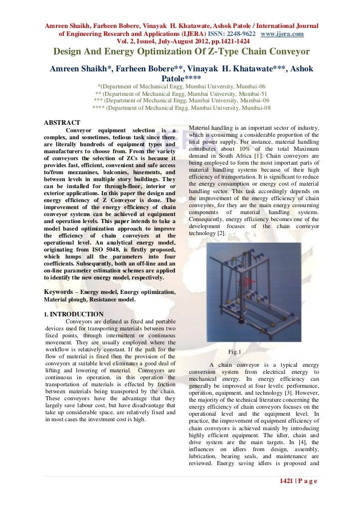 Amreen Shaikh, Farheen Bobere, Vinayak H. Khatawate, Ashok Patole / International Journal   of Engineering Research and Ap...