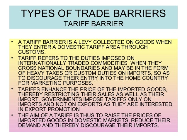 trade barriers United states international trade commission investigation no 332-541 usitc publication 4455 march 2014 trade barriers that us small and medium-sized.