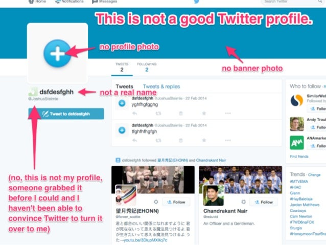 How to Create a Rockstar Twitter Profile in 5 Minutes Slide 3