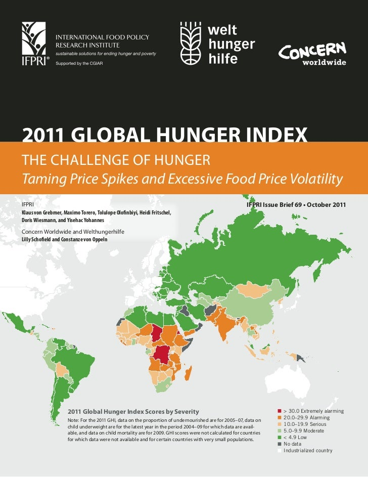 the global problem of world hunger So what dynamics can affect how we see world hunger problems, and how might  aggregate numbers hide important trends among the poor.