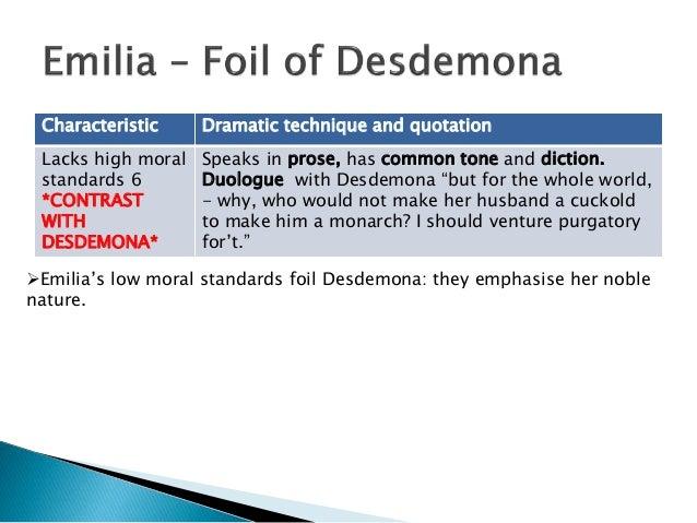 explain the scene in which othello kills desdemona