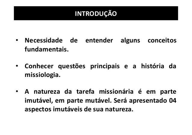 MISSIOLOGIA - IBADEP - LIÇÃO 1 Slide 3