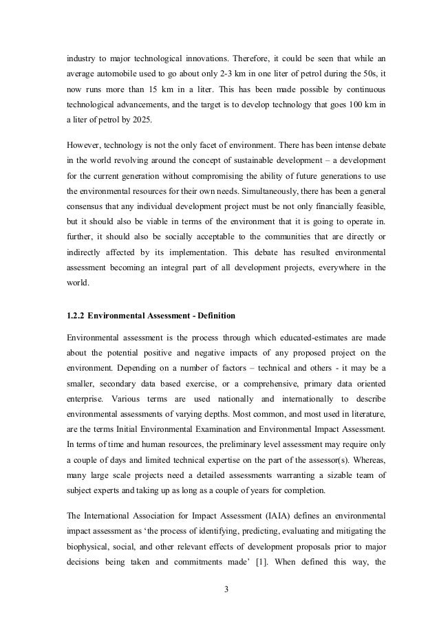 dissertation prospective