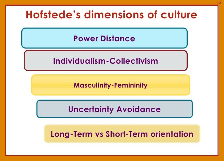 hofsedes dimensions of culture