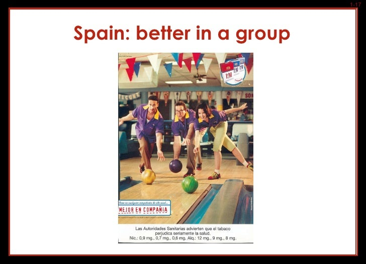 Spain: better in a group