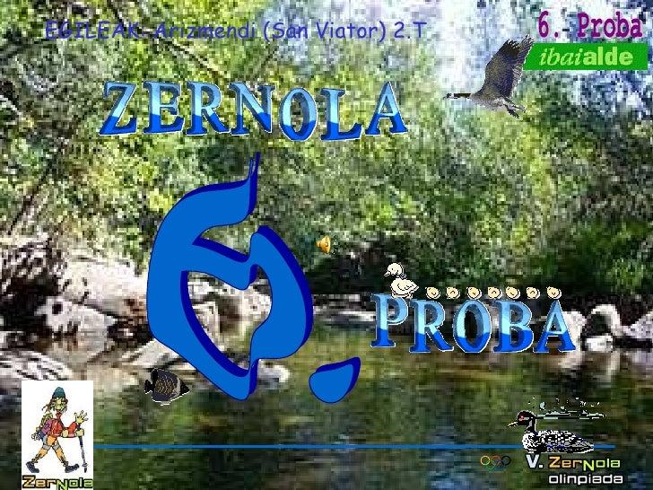 6. EGILEAK: Arizmendi (San Viator) 2.T