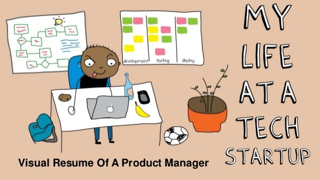 Visual Resume Of A Product Manager
